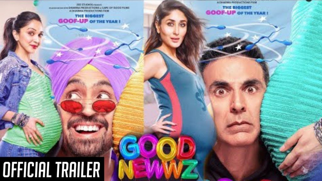 Photo of Catch Good Newz Trailer featuring loads of humor and drama