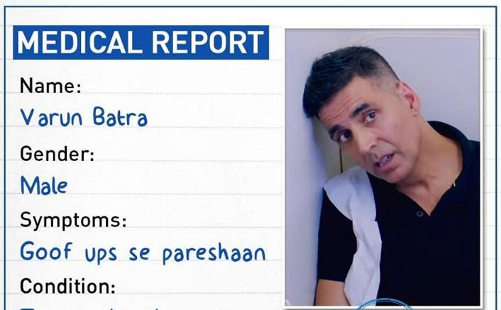 Photo of Catch Akshay Kumar's Funny Medical Report from his film Good Newwz