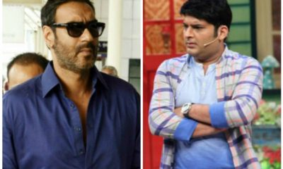 Ajay Devgn and Kapil Sharma