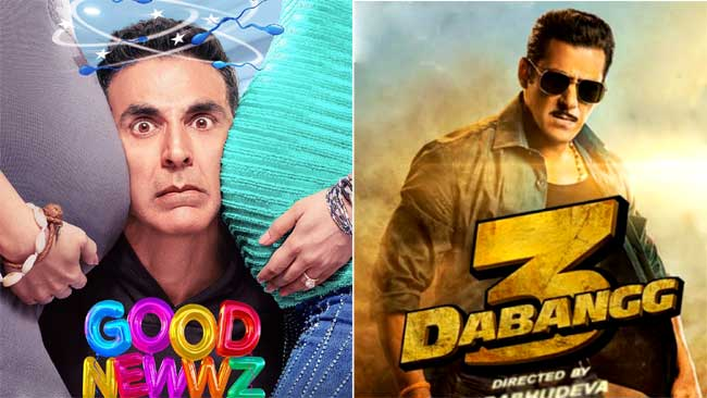 Photo of Good Newwz Vs. Dabangg 3 at Box Office, has Akshay Kumar's Stole The Christmas Business?