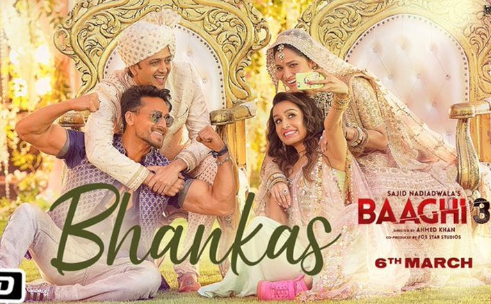 Photo of Catch a new song from Baaghi 3 – Bhankas Featuring Tiger Shroff & Shraddha Kapoor