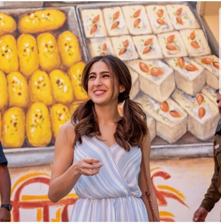Photo of Sara Ali Khan is too much fond of Desserts