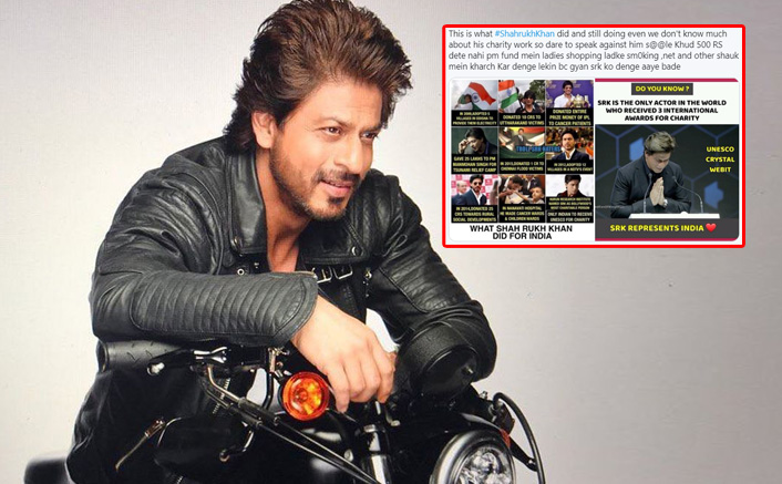 Photo of OMG: SRK Trolled For Not Contributing To Relief Funds