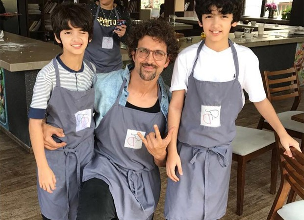 Photo of Hrithik Roshan Celebrates his Son  Hrehaan's birthday with socially distaning option