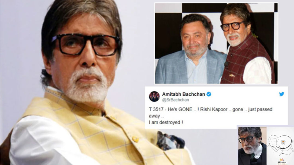 Photo of Amitabh Bachchan Pens an Emotional Blog Post on Rishi Kapoor