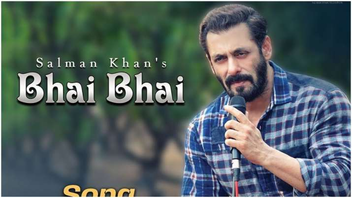 Photo of Salman Khan Comes out with his track Bhai Bhai as the Eid Venture