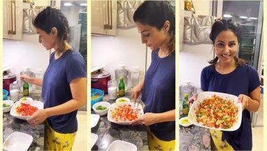 Photo of Hina Khan became master chef, shared some delicious recipe