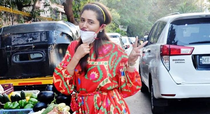 Photo of Rashmi Desai had to leave out of the house during lockdown