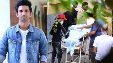Photo of Sushant singh Rajput wrote the last post for his mother