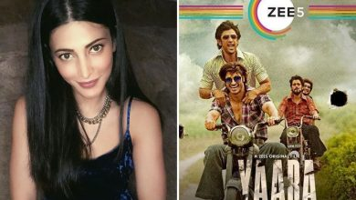 Photo of Shruti Haasan Loved to be the part of ZEE5 film Yaara, Check Deets
