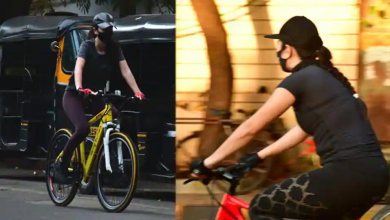 Photo of Katrina Spotted Cycling on Mumbai Streets, Check Pictures