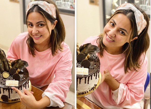 Hina-Khan-celebrates-her-return-from-Bigg-Boss-14-with-a-cake