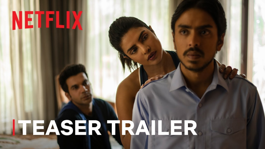 Catch The White Tiger Trailer featuring India's class struggle