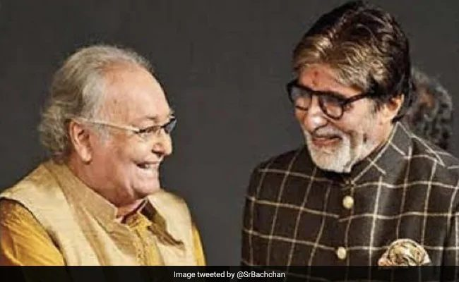 Big B Mourns Soumitra Chatterjee's Death