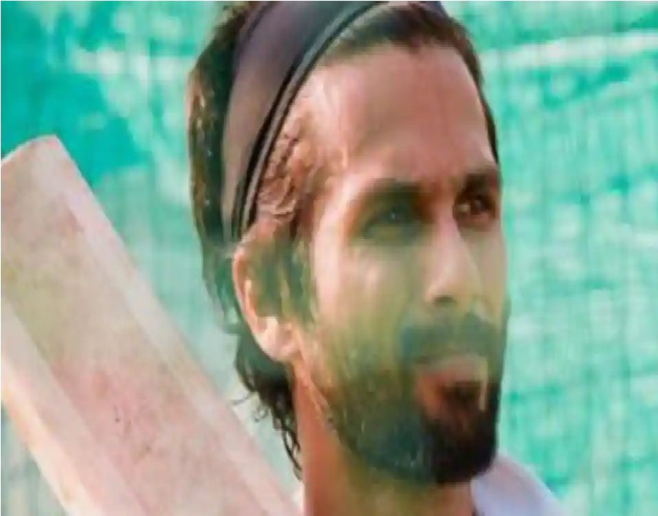 Shahid Kapoor Wraps up Jersey Shoot