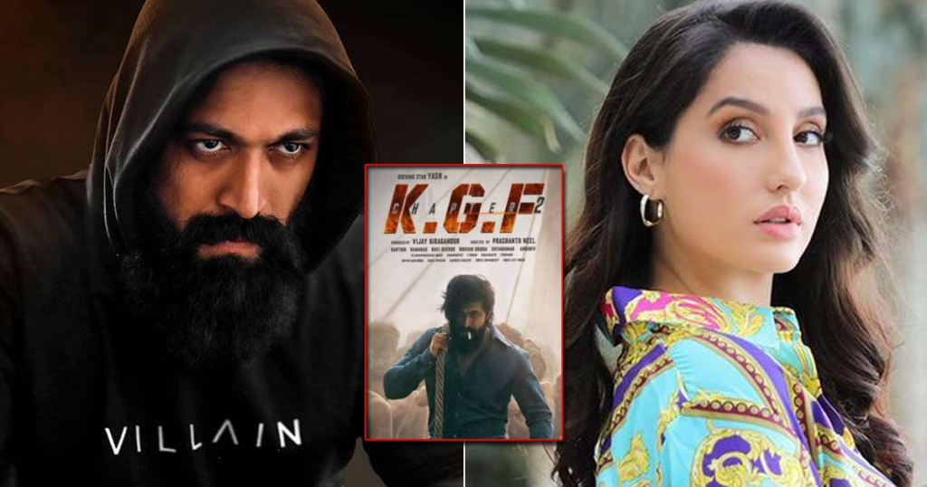 Nora to do an item number in KGF 2
