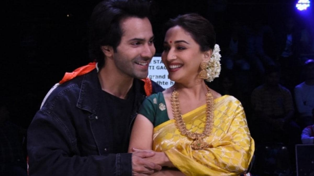 Varun Dhawan gets wishes from Madhuri Dixit