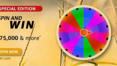 Amazon special edition spin and win 75000 and more