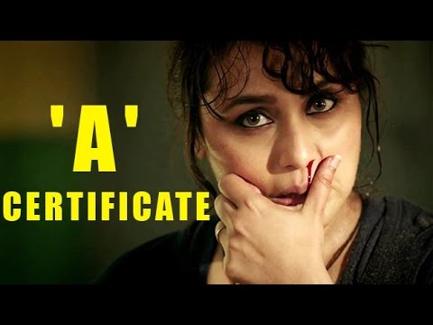 A certificate for Mardaani
