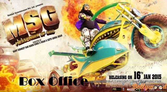 MSG first week box office collection