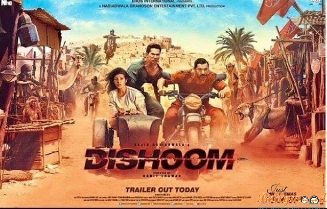 dishoom trailer to release at 550 screens simultaneously