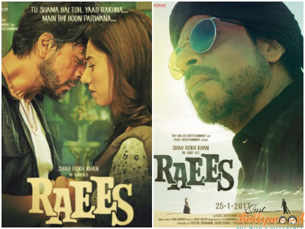 Raees new posters