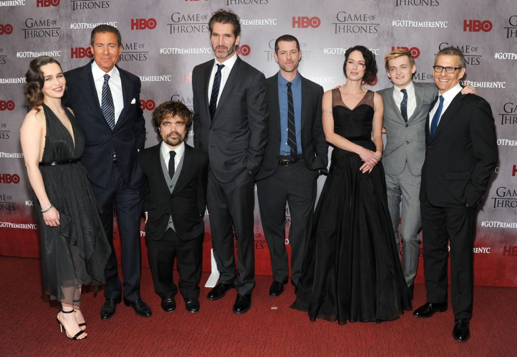 Game Of Thrones Actors with their Wifes