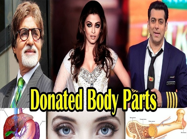 Top 10 Bollywood Celebrity Donated Their Body Parts