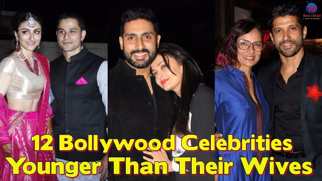 bollywood celebs younger than wife