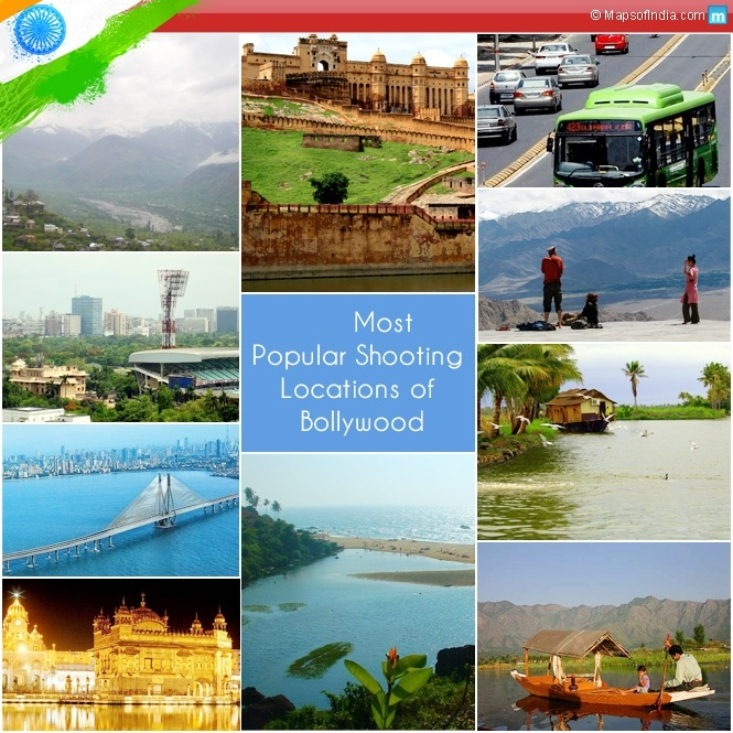 Most Popular Shooting Locations of Bollywood