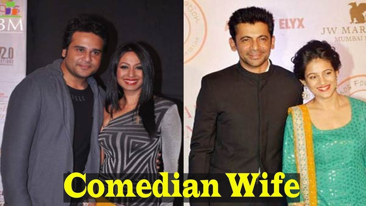 Indian Famous Comedians And Their Beautiful Wife