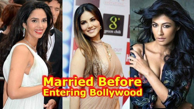 Actresses who entered Bollywood after getting married