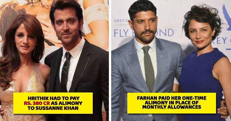 5 Most Expensive Divorces seen in Bollywood couples