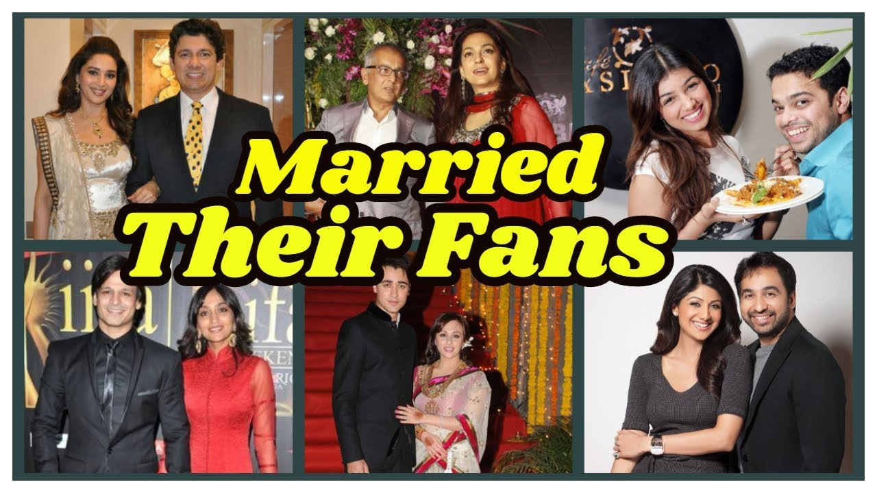 Bollywood Stars Who Married Their Fans