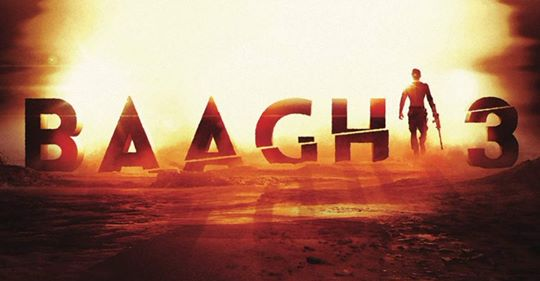 Baaghi 3 1st poster