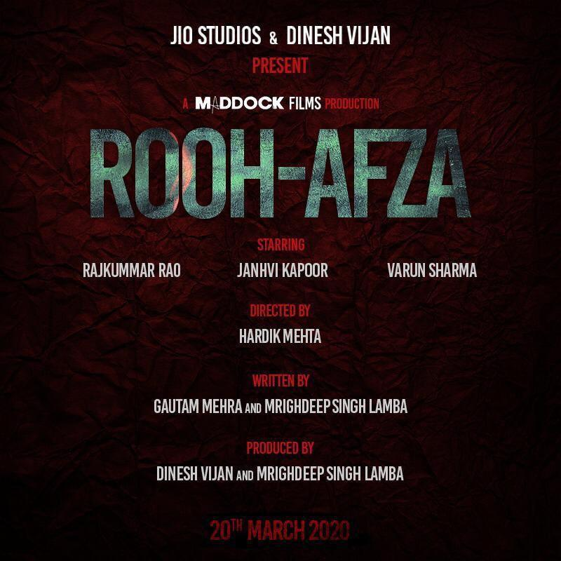 rooh afza poster