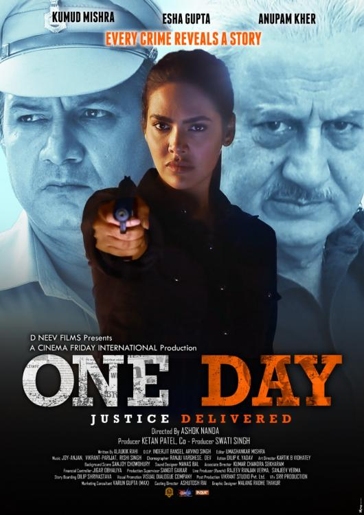 one day justice delievered poster