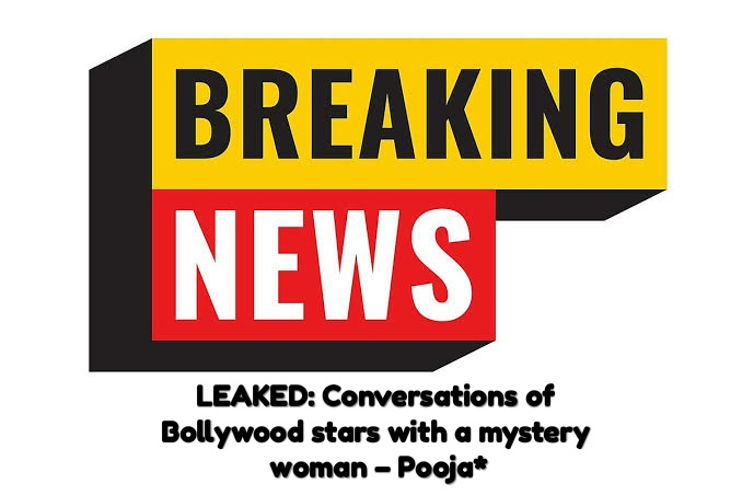 ollywood stars with a mystery woman – Pooja
