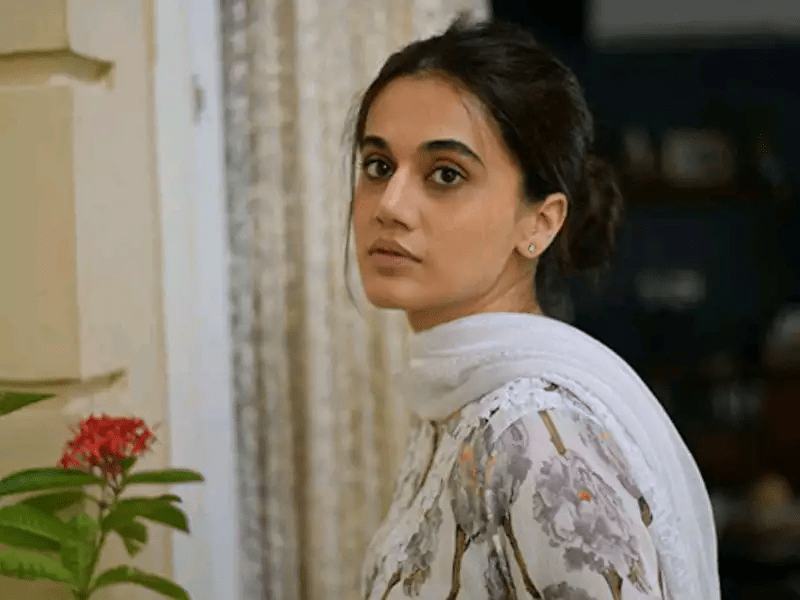 Taapsee Pannu reacts on IT Raids at her home
