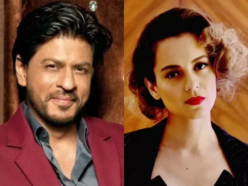 When Kangana compared herself to SRK