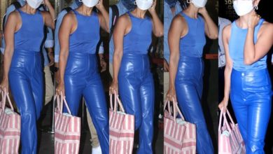 Alia Bhatt strutted on the airport donning a monochrome outfit with a Dior bag and Louis Vuitton slippers worth over Rs. 3.5 lakh 620