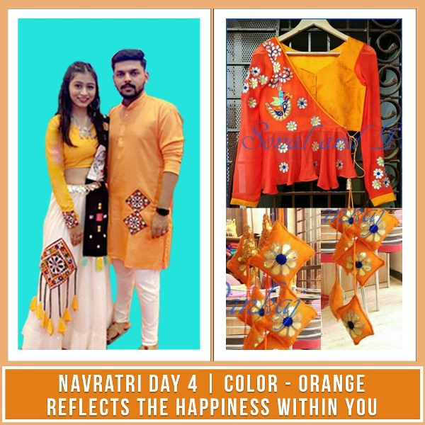 what you can wear on the third day of Navratri
